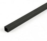 Fibre Plein Carbon Tube 15 x 15 x 300mm