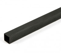 Fibre Plein Carbon Tube 20 x 20 x 800mm
