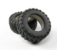 Desert Fox 2.2 Big SC Tyre Set (2 stuks)