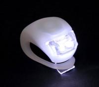 White Silicon Mini-Lamp (wit LED)