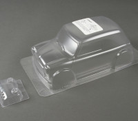01:10 Mini Cooper Clear Body Shell (voor M chassis)
