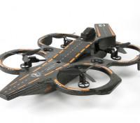 WLToys Q202 2.4G 4CH 6 Axis Vliegdekschip Triphibious RC Quadcopter W / LED RTF (US Plug) (Mode 2)