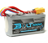 Turnigy Bolt 1000mAh 4S 15.2V 65 ~ 130C High Voltage LiPoly Pack (LiHV)