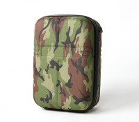 Turnigy Transmitter Case w / FPV Goggle opslag - Camo