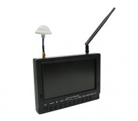 7 inch 800 x 480 40CH Diversity Receiver Zon leesbaar FPV Monitor w / DVR Fieldview 777 (EU Warehouse)