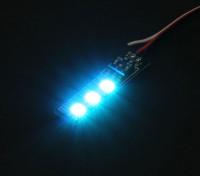 3 RGB LED 7 Color Board 5V met Futaba Style Plug