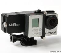 Feiyu Tech WGS Lite Single Axis Wearable Gimbal voor GoPro Hero 3 / 3Plus / 4 of vergelijkbare grootte