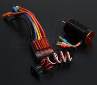 TrackStar 1/18 Scale 12T borstelloze macht System (5050kv)