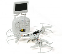 CX-33 Tricopter w / 5.8GHz Tx, Monitor, HD Camera, 2.4Ghz Modus 1 / Modus 2 Switchable Tx (RTF)