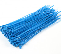 Cable Ties 150mm x 3mm Blue (100 stuks)