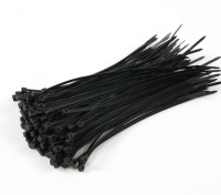 Cable Ties 150mm x 3mm Black (100 stuks)