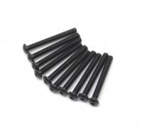 Metal Round Head Machine Hex Screw M2.5x22-10 stuks / set