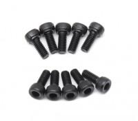 Metal Socket Head Machine Hex Screw M2.5x6-10 stuks / set
