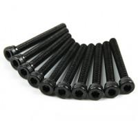 Metal Socket Head Machine Hex Screw M2.5x20-10 stuks / set