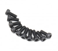 Metal Socket Head Machine Hex Screw M2.6x6-10pcs / set
