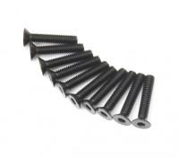 Metal platte kop Machine Hex Screw M3x16-10pcs / set