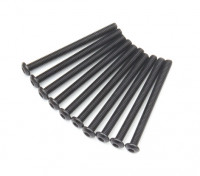Metal Round Head Machine Hex Screw M3x36-10pcs / set
