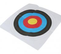 Longshot Portsmouth rond gezicht Paper Target (1 / pack) 60 x 60cm