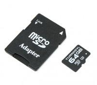 Turnigy 64GB U3 Micro SD-geheugenkaart (1 st)