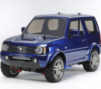 Tamiya 1/10 schaal Suzuki Jimny Metallic Blue Painted Body (MF-01X Chassis) 58.621