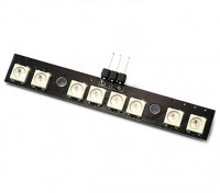 Matek RGB 8 LED WS2812B w / MCU Dual Modes