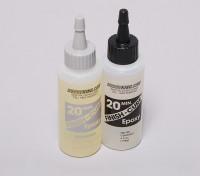 Finish-Cure 20 Min Epoxy Glue 4.5 oz