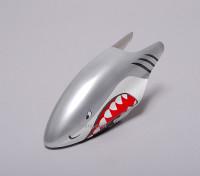Glasvezel Canopy voor 450 Helicopter - Shark