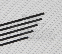 Carbon Strip 1x3x750mm (5pcs / set)