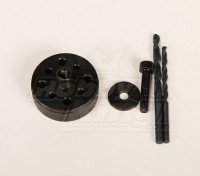 Prop & Back-Plate Drill Jigs voor HP-50 \ DA50 \ DLE50 \ DLE55 \ JC51 \ DLE30