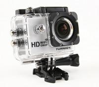 Turnigy HD WiFi ActionCam 1080p Full HD-videocamera w / Waterproof Case