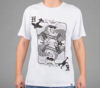 HobbyKing Apparel Koning Card Cotton Shirt (Large)