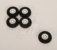 Light Foam Wheel (Diam: 40, breedte: 11mm) (5pcs / bag)