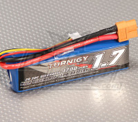 Turnigy 1700mAh 2S Pack 20C Lipo (Suits 1 / 16e Monster Beatle, SCT & Buggy)