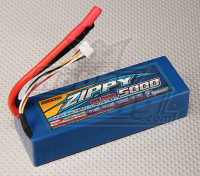 ZIPPY 5000mAh 3s1p 30C Hardcase pak