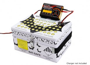 Bat-Safe LiPo Battery Charging Safe Box