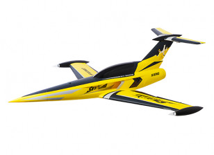 """H-King SkySword Yellow 70mm EDF Jet 990mm (40"""") (PNF)"""