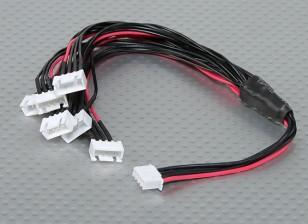 JST-XH Parallel Balance Lead 3S 250mm (6xJST-XH)