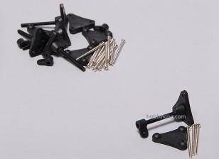Verstelbare Controle Horn 3x34mm (5sets)