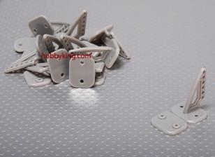 Pom Horns 20x27mm (10st / set)