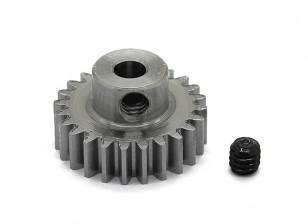 Robinson Racing Steel Pinion Gear 48 Pitch Metric (0,6 Module) 24T