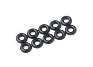 O-ring Kit 3 mm (zwart) (10st / bag)
