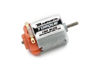 Basher Torque 130 Maat Brushed Motor (Orange)