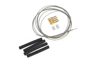 Trek / Pull Steel Wire Control Set - 1mm