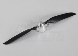 Folding Propeller W / Alloy Hub 40mm / 3mm Shaft 10x6 (1 st)