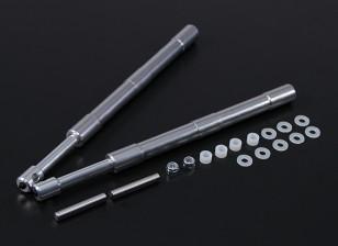 Alloy Oleo Strut 169mm Straight Mains voor 60 ~ 120 Class 2pc