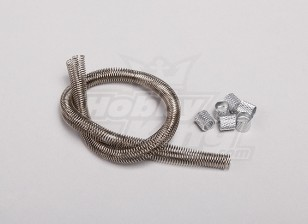 Fuel Line Guard met Zilveren Koppeling