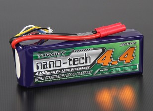 Turnigy nano-tech 4400mAh 4S 65 ~ 130C Pack Lipo