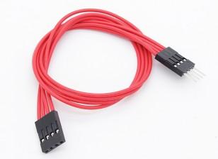 250mm 4-pin verlengkabel voor LED RGB Multi-Function Driver / Controller
