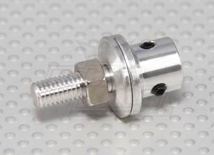Prop adapter w / Steel Nut 4mm as (Grub Screw Type)