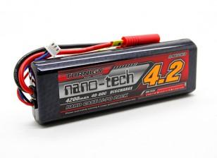 Turnigy nano-tech 4200mAh 2S2P 40 ~ 80C (Hardcase Stick Pack)